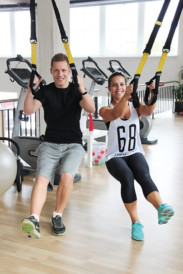 Training mit dem TRX Suspension Trainer