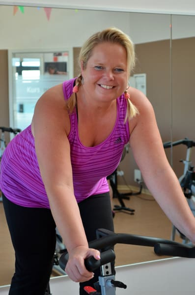 Indoor Cycling mit Sabine