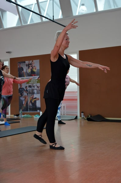 Ballett-Workout mit Pia