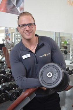 Paddy - Trainer und Berater im Fitness Galerie Team
